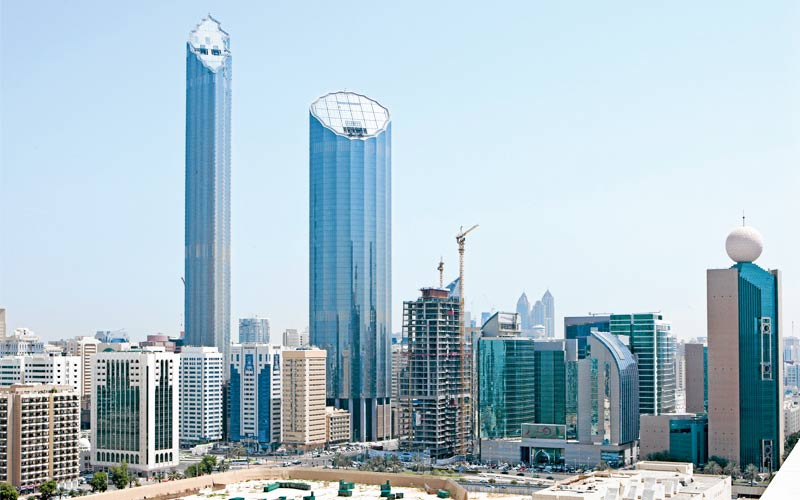 image of Burj Mohammed Bin Rashed tower officially inaugurated on Monday in Abu Dhabi