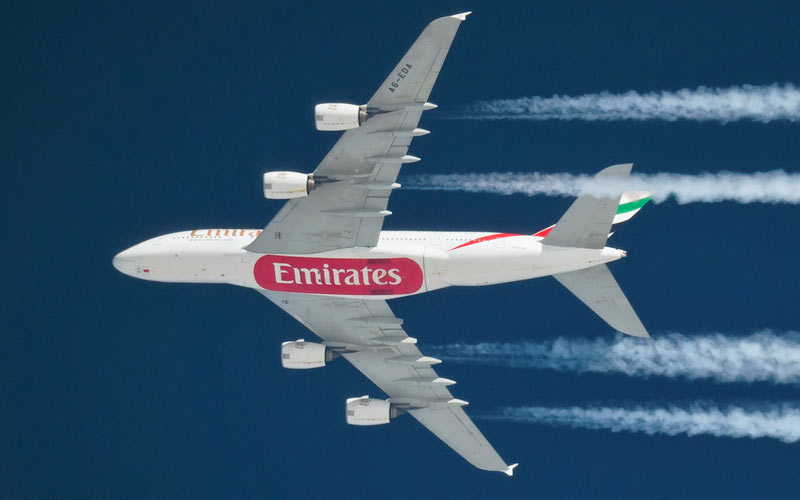 image of Emirates goes all A380 on London flights