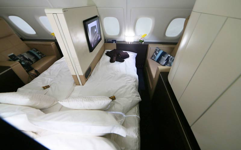 image of Etihad�s $20,000 Residence fully booked for first 10 A380 trips