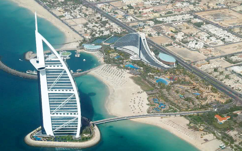 image of Luxury hotels set sights on Jumeirah Beach
