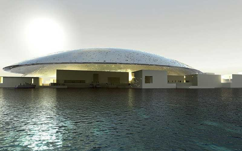 The art of engineering at the Louvre Abu Dhabi