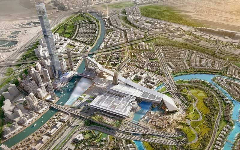 image of Meydan One project launched in Dubai