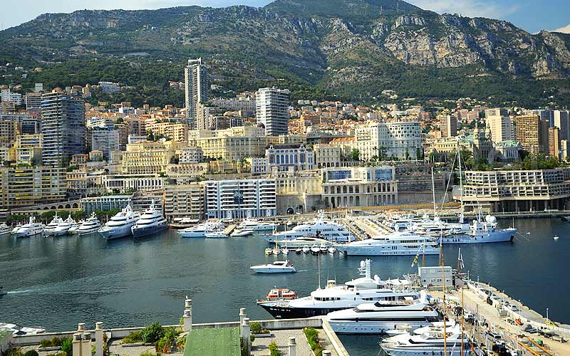 Monaco Monte Carlo a luxury jewell in Europe