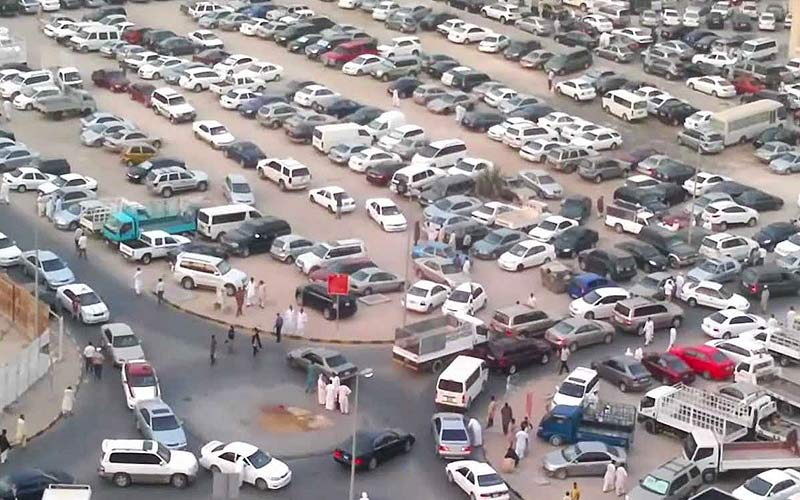 End of the road for used car dealers in Abu Shagara