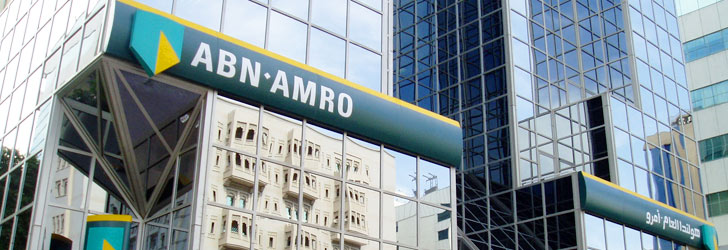 Image of the ABN AMRO Bank in Dubai
