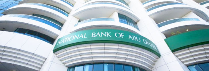 Image of the NBAD Bank in Dubai