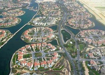 image of Jumeirah Islands in Dubai