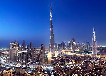 image of Downtown Dubai in Dubai